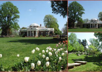 Monticello, la maison de Jefferson