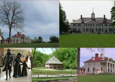 20 avril : La maison de Georges Washington ˆ Mont Vernon