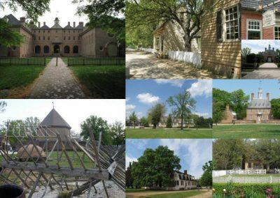 17 avril. Williamsburg : l'universitŽ William and Mary et la vieille ville