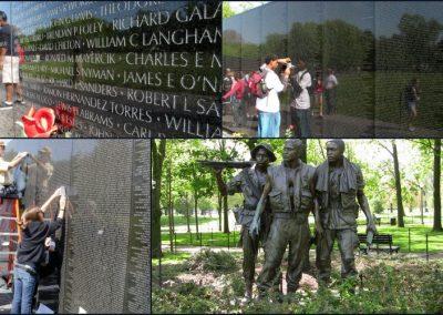 Le monument commŽmoratif de la guerre du Vietnam