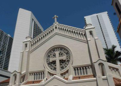 Miami – Downtown La cathédrale épiscopale de la Trinit