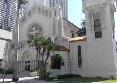 Miami – Downtown La cathédrale épiscopale de la Trinité