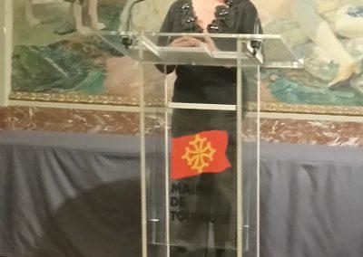discours de Mme Andrée  Progon
