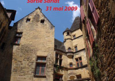 Sortie Sarlat 2009