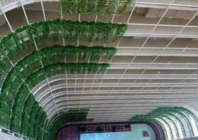 Miami –  vue intérieur de l hotel