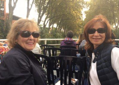 Ballade en péniche sur la Garonne